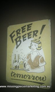 free beer - i'll be back
